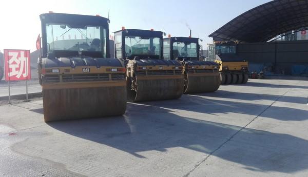 二秦高速L3标段施工现场